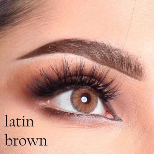 luminous contact lenses latin brown عدسات لاصقة لومينوس لاتن براون بني