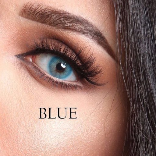 luminous contact lenses blue عدسات لاصقة لومينوس بلو ازرق