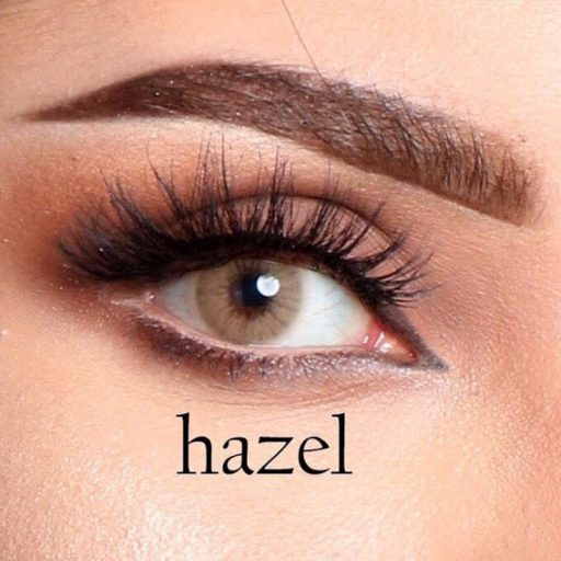 luminous contact lenses lhazel عدسات لاصقة لومينوس هيزل