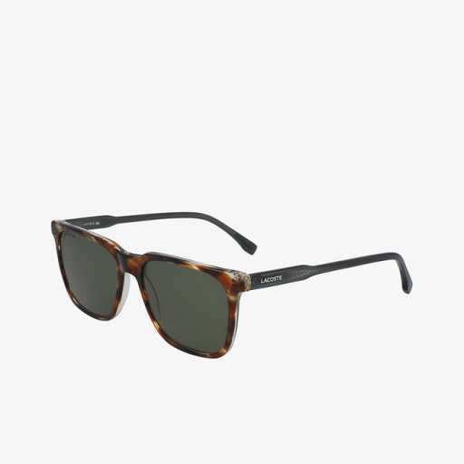 LACOSTE SUNGLASSES L910S-218 DARK HAVANA SIDE