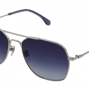 LOZZA sunglasses SL2367-0579 silver blue